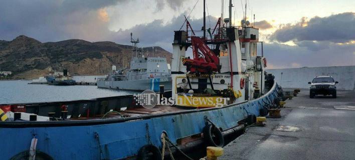 Εφοδος λιμενικών σε πλοίο νότια της Ιεράπετρας -Εντόπισαν μεγάλη ποσότητα ναρκωτικών