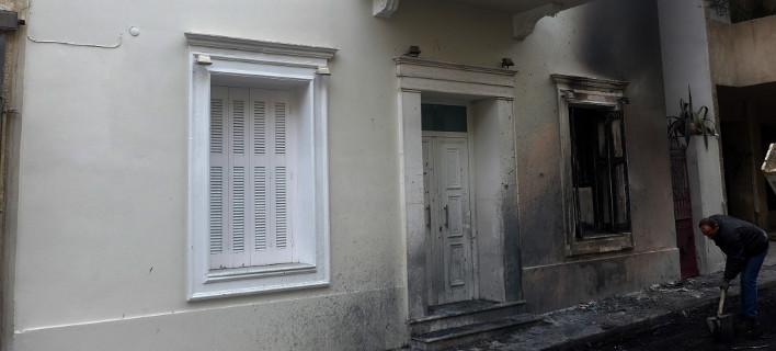Στο στόχαστρο ξανά το σπίτι του Αλέκου Φλαμπουράρη (Φωτογραφία αρχείου: EUROKINISSI/ΧΡΗΣΤΟΣ ΜΠΟΝΗΣ)