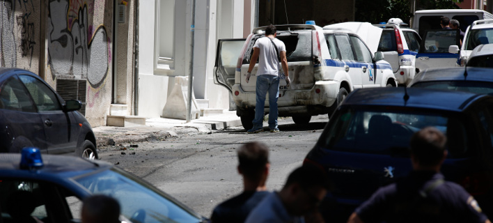 Νέα επίθεση έξω από το σπίτι του Αλέκου Φλαμπουράρη (Φωτογραφία αρχείου: EUROKINISSI / ΣΤΕΛΙΟΣ ΜΙΣΙΝΑΣ)