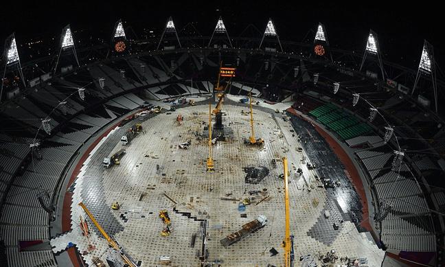 Kι άλλη βρετανική γκάφα στους Ολυμπιακούς - Τους έσβησε η φλόγα! [εικόνες]