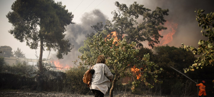 Δραματική η κατάσταση στο Μάτι /Φωτογραφία: AP