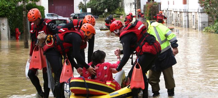 πλημμύρες στη Γαλλία/Φωτογραφία: AP