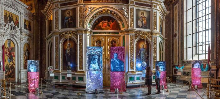 (φωτογραφίες: Αριστοτέλης Καραντής/ Κρατικό Μουσείο του Αγίου Ισαάκ)