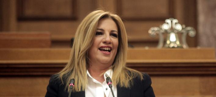 «Φιάσκο» η επίσκεψη ερντογάν δηλώνει η Φ. Γεννηματά -Φωτογραφία αρχείου: ΧΡΗΣΤΟΣ ΜΠΟΝΗΣ//EUROKINISSI