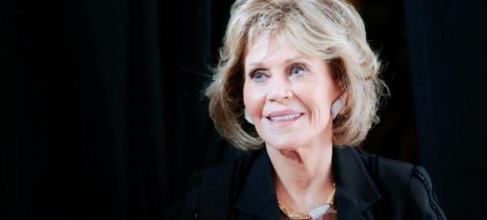 H ηθοποιός Jane Fonda (πηγή φωτογραφίας: reuters)