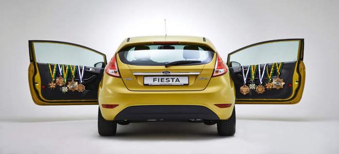 To πιο δημοφιλές μικρό μοντέλο είναι το Ford Fiesta. Και για το 2014.