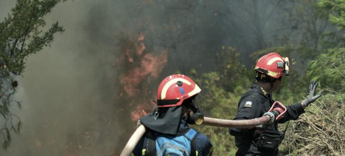 πυροσβέστες/Φωτογραφία: EUROKINISSI/ΤΑΤΙΑΝΑ ΜΠΟΛΑΡΗ