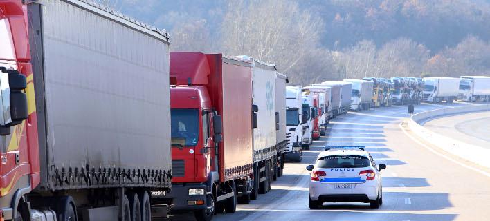 Απαγορεύεται και σήμερα η κίνηση των φορτηγών, Φωτογραφία: Eurokinissi