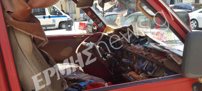 Το αυτοκίνητο που βρέθηκε νεκρός ο συνταξιούχος