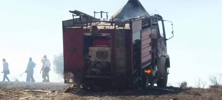Η φωτιά στην Ανάβυσσο έσβησε αργά το απόγευμα της Πέμπτης./ Φωτογραφία: Intimes