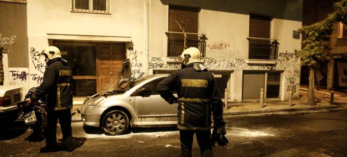 φωτιά σε αυτοκίνητο/Φωτογραφία: Eurokinissi