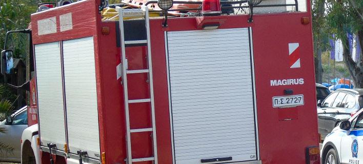 Πυροσβεστικό όχημα (Φωτογραφία αρχείου: Eurokinissi/ΚΟΝΤΑΡΙΝΗΣ ΓΙΩΡΓΟΣ)