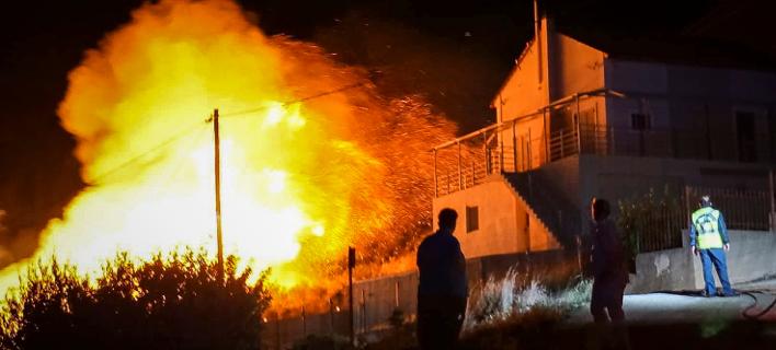 φωτιά στην Κεφαλονιά/Φωτογραφία: Eurokinissi