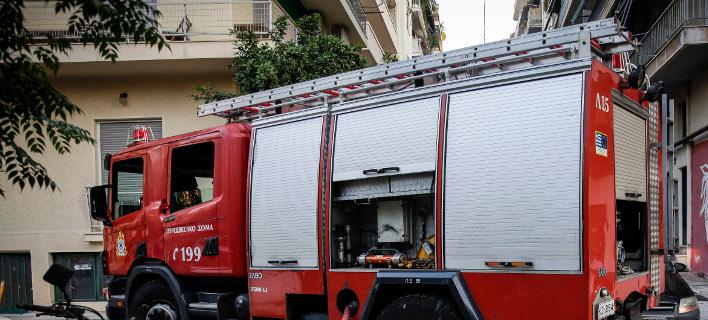 Πυροσβεστικό όχημα (Φωτογραφία: EUROKINISSI/ΣΤΕΛΙΟΣ ΜΙΣΙΝΑΣ)