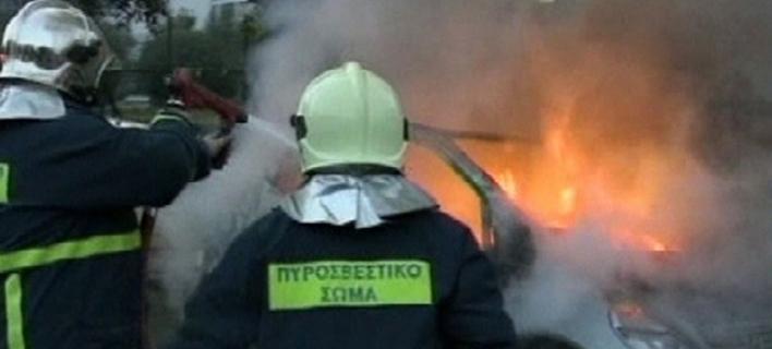 Τραγωδία στη Θεσσαλονίκη: Φωτιά σε εν κινήσει όχημα, απανθρακώθηκε ο οδηγός