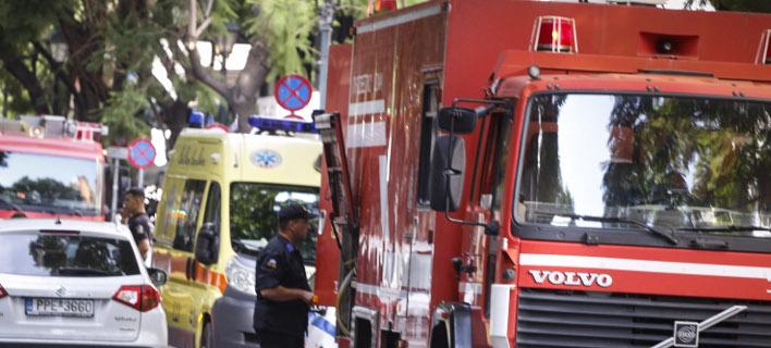 Ενας νεκρός από πυρκαγιά στη Μονεμβασιά/ Φωτογραφία αρχείου: EUROKINISSI- ΓΙΩΡΓΟΣ ΚΟΝΤΑΡΙΝΗΣ
