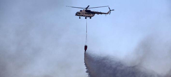 Πυρκαγιά στην Ηλεία (Φωτογραφία αρχείου: ΜΟΤΙΟΝΤΕΑΜ/ΒΕΡΒΕΡΙΔΗΣ ΒΑΣΙΛΗΣ)