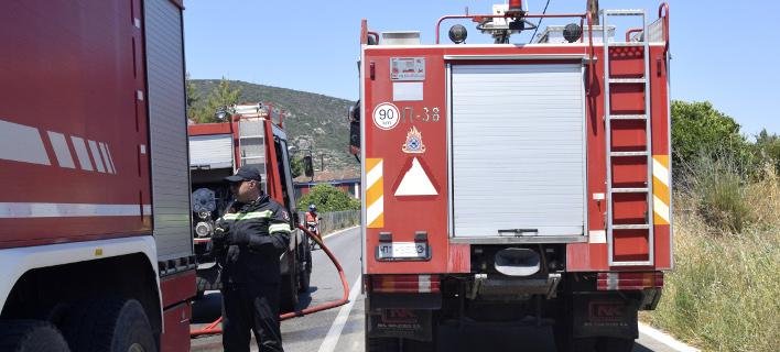 Φωτιά ξέσπασε στην Ιεράπετρα (Φωτογραφία αρχείου: EUROKINISSI/ ΒΑΣΙΛΗΣ ΠΑΠΑΔΟΠΟΥΛΟΣ)