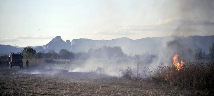 84 πυρκαγιές εκδηλώθηκαν το τελευταίο 24ωρο (Φωτογραφία: EUROKINISSI/ΘΑΝΑΣΗΣ ΚΑΛΛΙΑΡΑΣ)