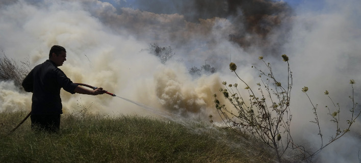 Σε εξέλιξη οι πυρκαγιές σε Χανιά και Ρέθυμνο (Φωτογραφία αρχείου: EUROKINISSI/ΓΙΩΡΓΟΣ ΚΟΝΤΑΡΙΝΗΣ)