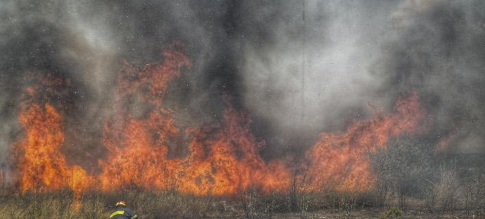 Πολύ υψηλός κίνδυνος πυρκαγιάς σήμερα (Φωτογραφία: EUROKINISSI/ΓΙΩΡΓΟΣ ΚΟΝΤΑΡΙΝΗΣ)