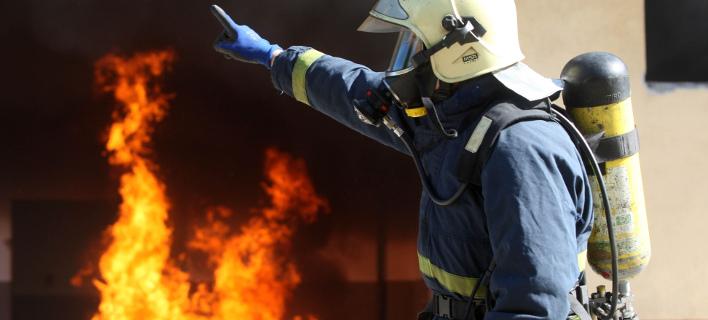 Φωτιά σε εργοτάξιο του μετρό στη Θεσσαλονίκη (Φωτογραφία αρχείου: ΜΟΤΙΟΝΤΕΑΜ/ΓΙΩΓΟΣ ΚΩΝΣΤΑΝΤΙΝΙΔΗΣ)