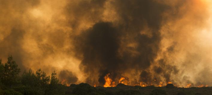 Αποτέλεσμα εικόνας για φωτιά κύθηρα