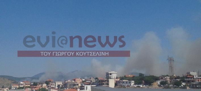 Ανεξέλεγκτη η φωτιά στην Εύβοια - 20 μέτρα μακριά από τα σπίτια