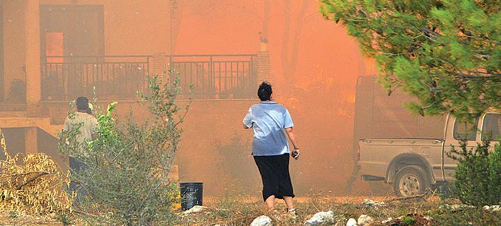 Μεγάλη φωτιά στη Ζάκυνθο το τελευταίο τριήμερο /Φωτογραφία: Imerazante.gr
