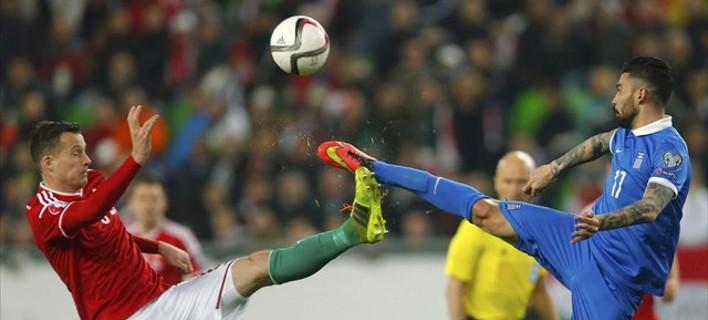 Ισοπαλία για την Ελλάδα (0-0) με την Ουγγαρία εκτός έδρας - Ελαχιστοποιήθηκαν οι ελπίδες πρόκρισης στο EURO