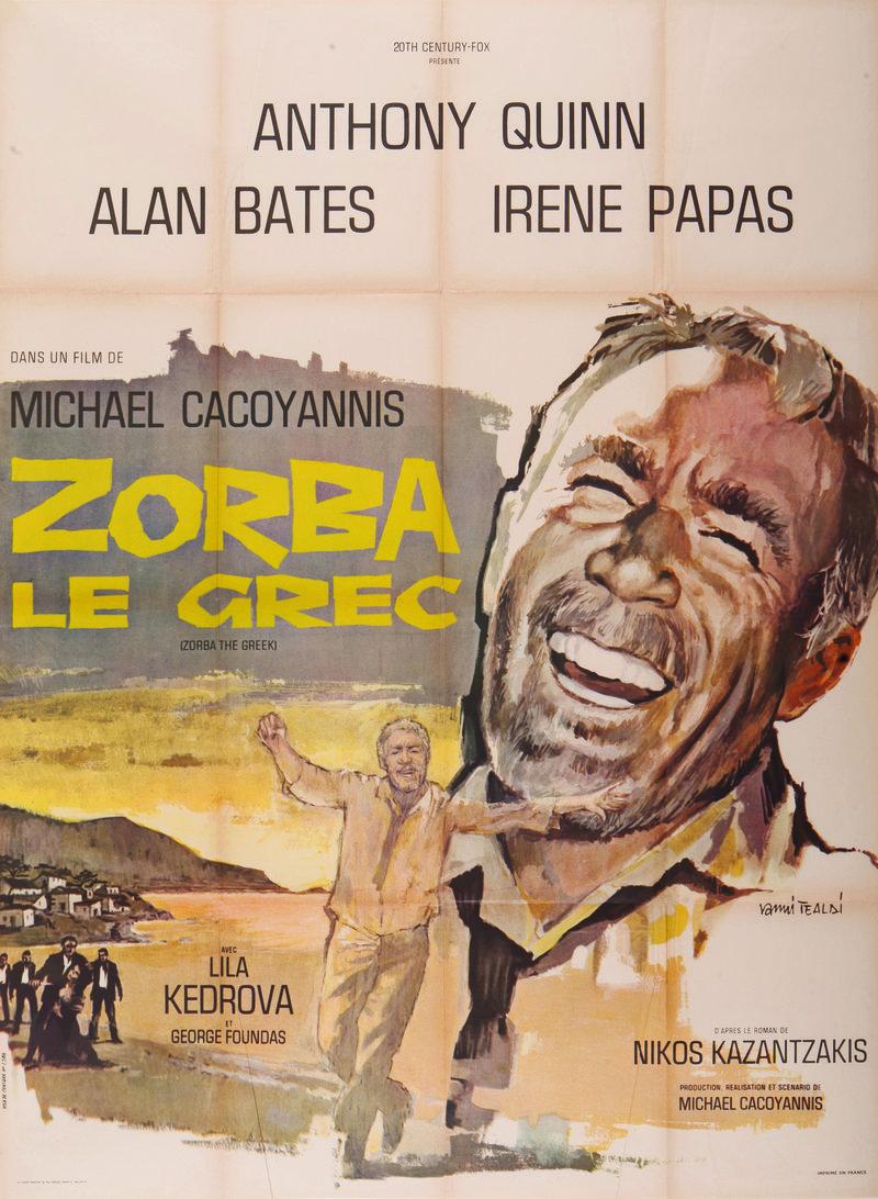 Η ταινία «Ζορμπάς» από το ομώνυμο βιβλίο του Ν. Καζαντζάκη/ Φωτογραφία ΑΠΕ ΜΠΕ