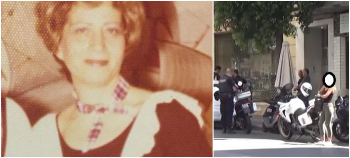 Η 88χρονη Φούλη Παπανδρέου, γιαγιά της νύφης του Κωστή Στεφανόπουλου