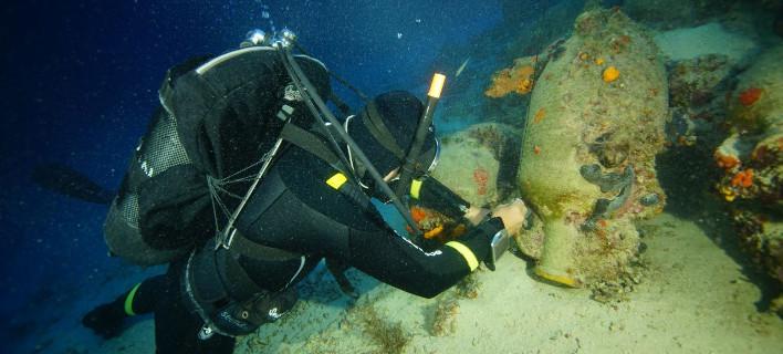 Ενάλια Αρχαιολογική Έρευνα στους Φούρνους