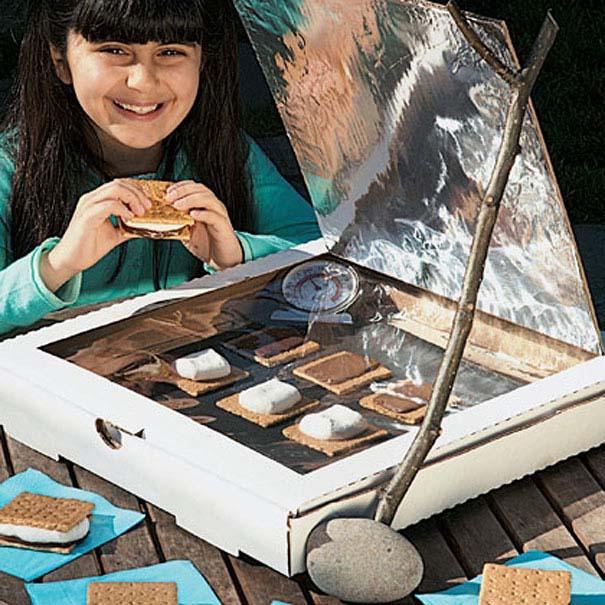 χειροτεχνίες πίτσα κουτί πίτσας κατασκευές ιδέες άδειο