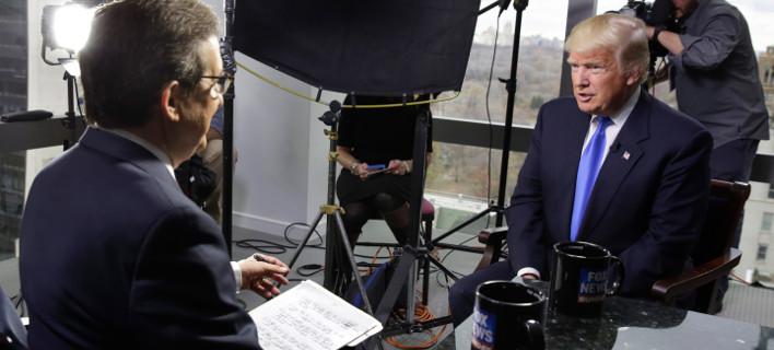 Διάδοση ψευδών ειδήσεων με υπογραφή...Τραμπ/ Φωτογραφία: Richard Drew/AP
