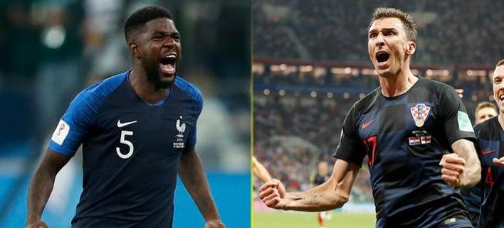 Γαλλία και Κροατία φορούν Nike