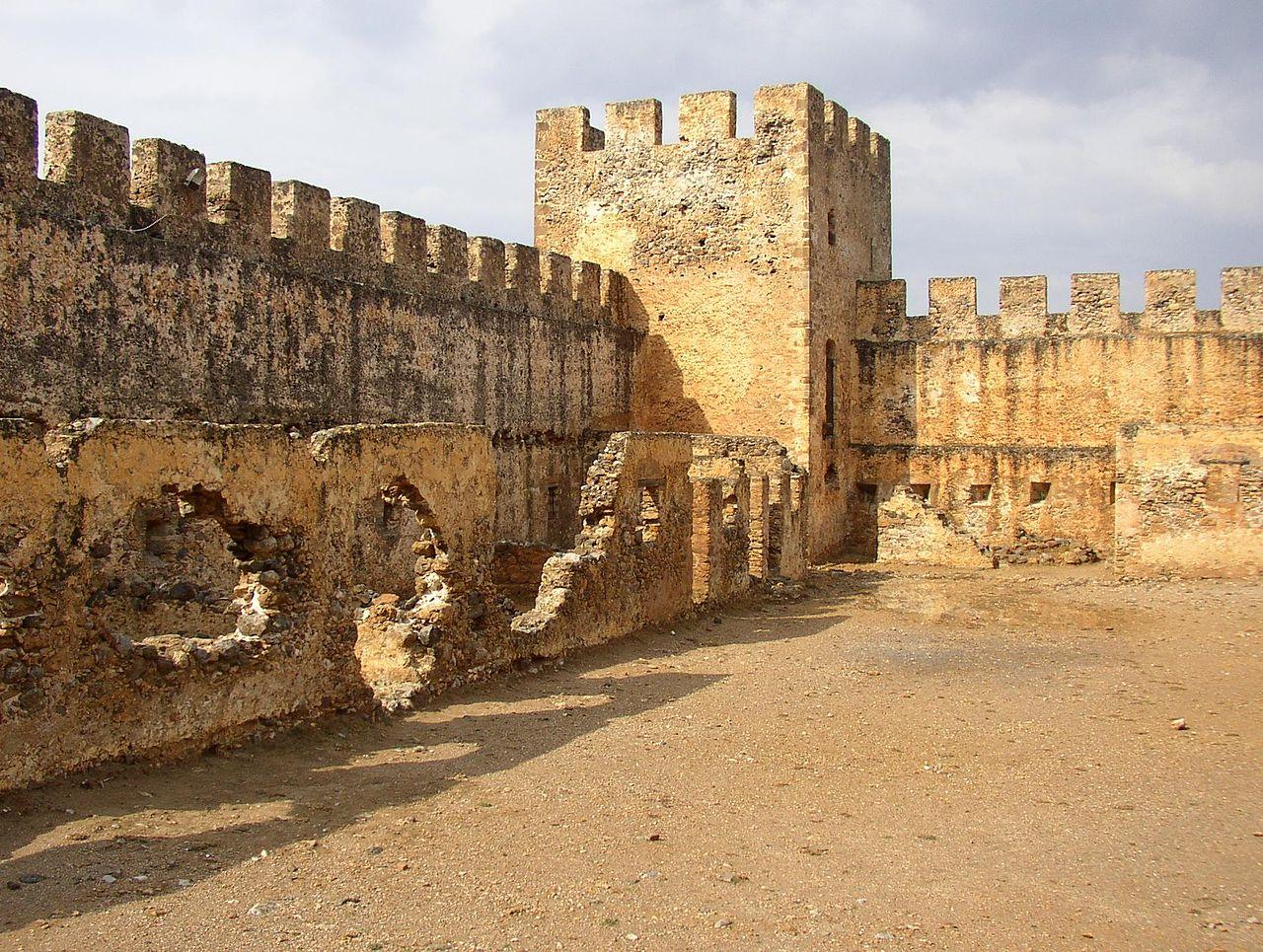 Το φρούριο του Φραγκοκάστελλου είναι του 14ου αιώνα