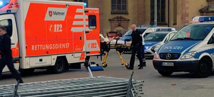 Φρανκφούρτη: Επίθεση αγνώστου με μαχαίρι -Τέσσερις τραυματίες