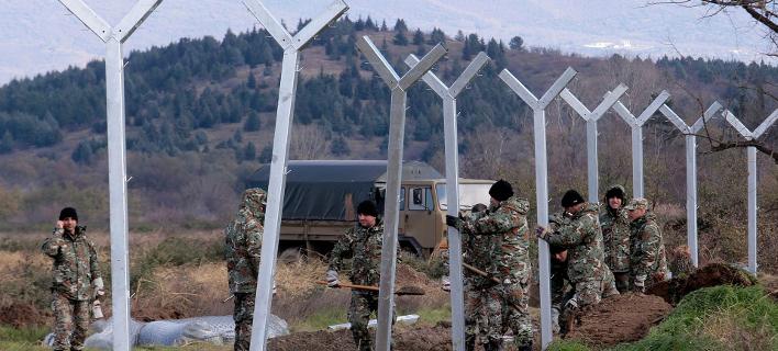 Τεταμένο το κλίμα στην Ειδομένη -Ολοκληρώνεται σήμερα ο φράχτης