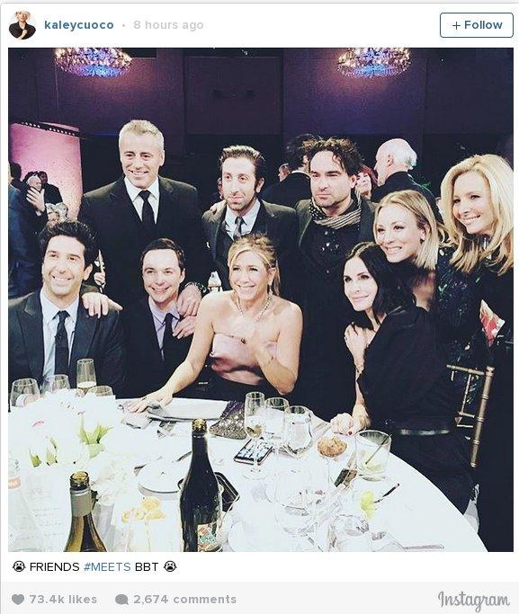 Η πρώτη φωτογραφία από το reunion των σταρ από τα «Φιλαράκια»
