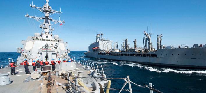 Βρετανική φρεγάτα «συνόδευσε» ρωσικό πολεμικό πλοίο στη Βόρεια Θάλασσα, Φωτογραφία Αρχείου: AP