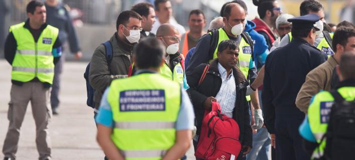 Μέλη της Frontex/ Φωτογραφία: ΑΡ
