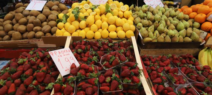 Φρούτα/Φωτογραφία αρχείου: Eurokinissi/ΦΑΝΗ ΤΡΥΨΑΝΗ