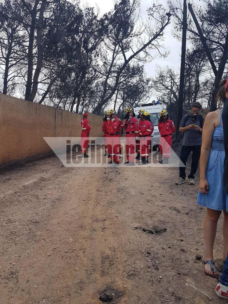 Οι διασώστες ήρθαν αντιμέτωπο με ένα θλιβερό θέαμα. Βρήκαν 26 νεκρούς μέσα σε ένα χωράφι