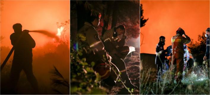 Για τρίτο βράδυ η κατάσταση είναι πολύ δύσκολη/ΦΩΤΟΓΡΑΦΙΑ: EUROKINISSI
