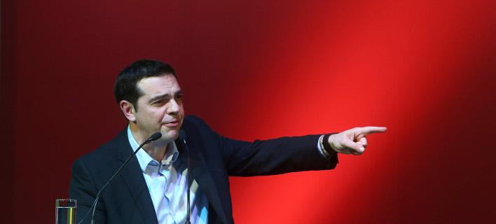FT: Θέλει να καθησυχάσει την κομματική βάση / Φωτογραφία: Intimenews/ΚΩΣΤΑ ΜΠΑΛΤΑΣ