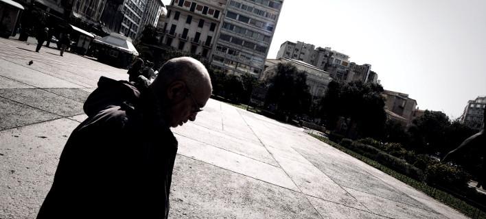 Στο κέντρο της Αθήνας/Φωτογραφία: Eurokinissi