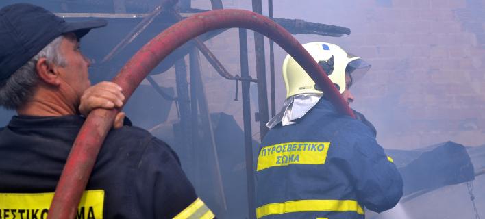 Νεκρή ηλικιωμένη από φωτιά στο σπίτι της/Φωτογραφία: Eurokinissi