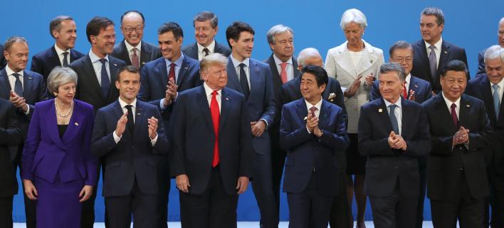 Τα κράτη μέλη στο G20/ Φωτογραφία: AP