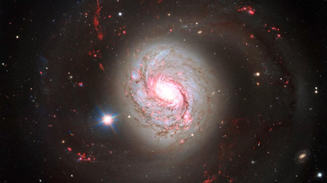 Η ομορφιά ενός γαλαξία (Messier 77) – Φωτογραφία: EPA/European Southern Observatory